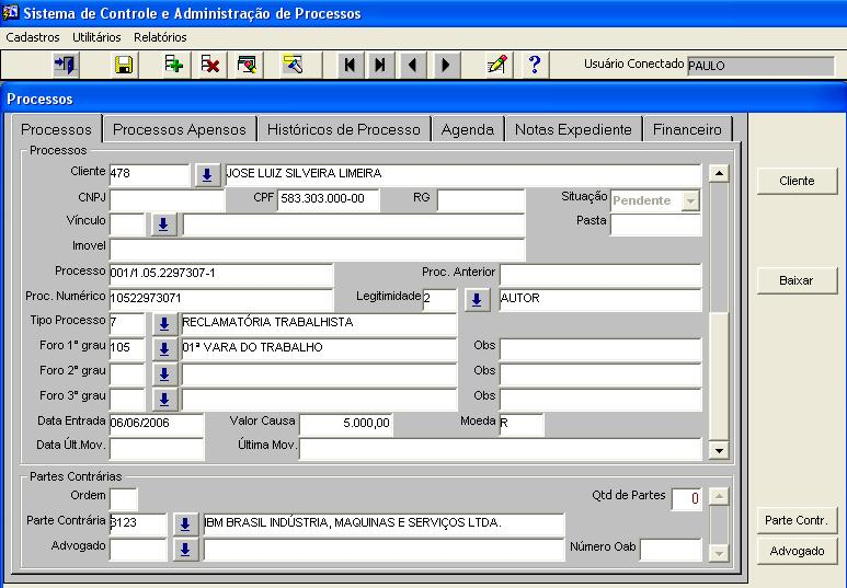 Relatorio bases de dados